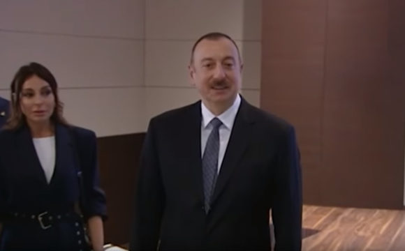 President Ilham Aliyev attended the opening ceremony