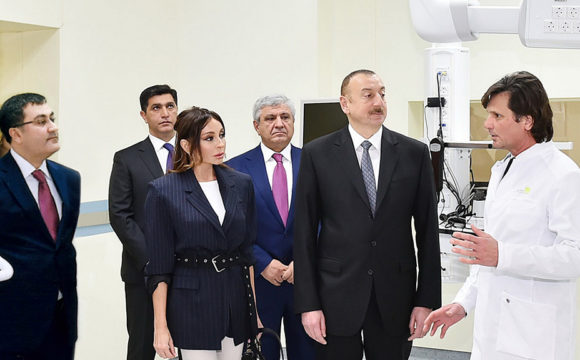 Speech of President of the Republic of Azerbaijan Ilham Aliyev  at the Bona Dea International Hospital